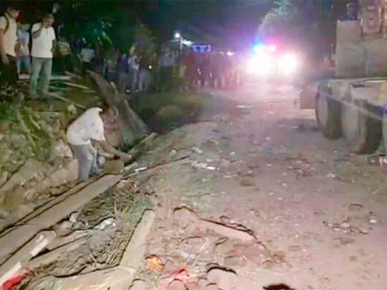 Santa Cruz de Yojoa: Colisión entre grúa y pick-up deja a seis personas heridas