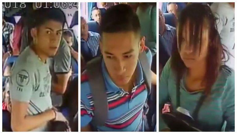 La Policía dice tener identificados a dos de los asaltantes de bus en Talanga