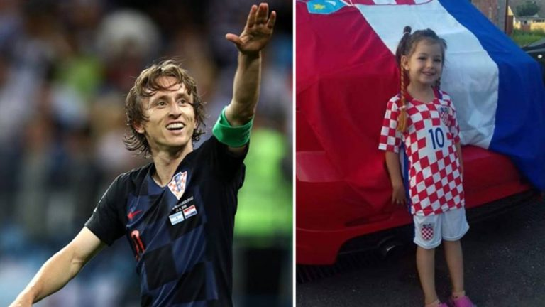 ¡Emotivo Gesto! Luka Modric sorprende a niña de cinco años con cáncer