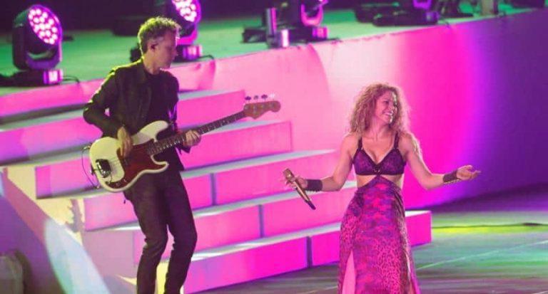 ¡Majestuoso! Shakira prendió la noche en la inauguración de los Juegos en Barranquilla