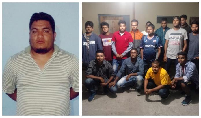 tráfico de personas en Siguatepeque