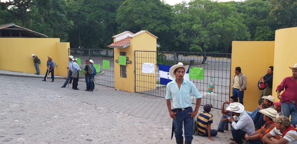 Toma de parque en Copán Ruinas