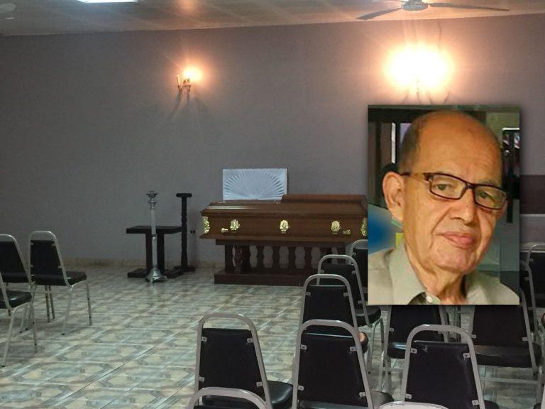Dan último adiós al veterano periodista José Ochoa y Martínez