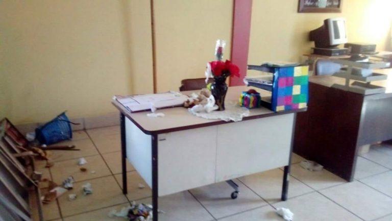 Presuntos pandilleros intimidan escolares en centro educativo de Comayagua