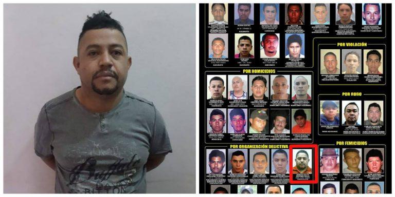 """Danlí: Cae expolicía, presunto líder de la banda """"El combo que no se deja"""""""