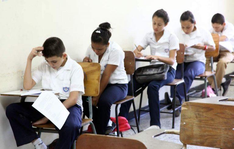 60% de alumnos hondureños presentan deficiencias en matemáticas y español