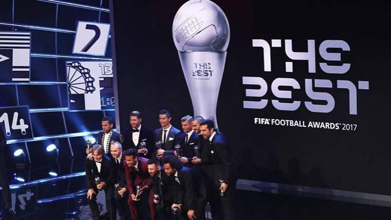Neymar quedó fuera de la Lista de candidatos del The Best