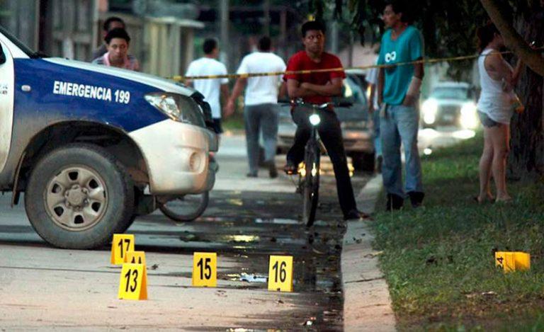 Siete municipios en Honduras reportan cero homicidios, según OV-UNAH