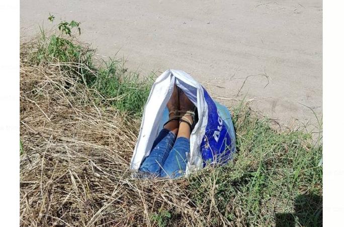 Amarrado encuentran el cadáver de una mujer en la colonia Luisiana, de San Pedro Sula