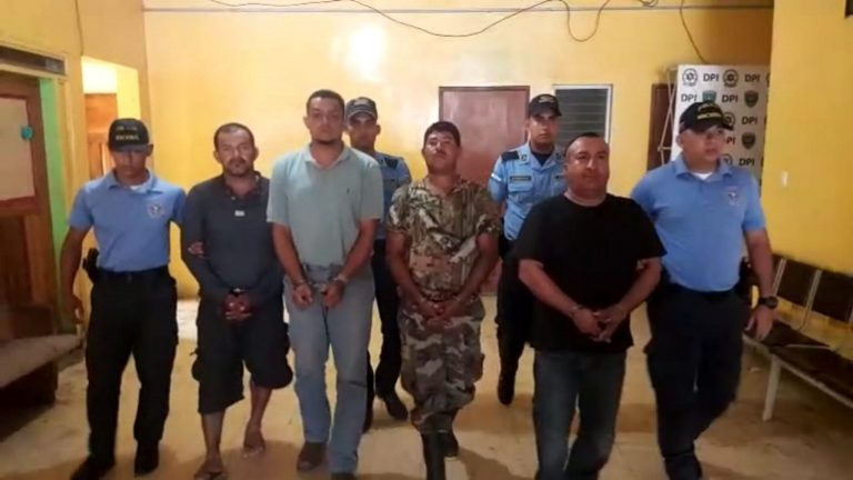 Arrestan a cuatro supuestos homicidas en Morazán, Yoro