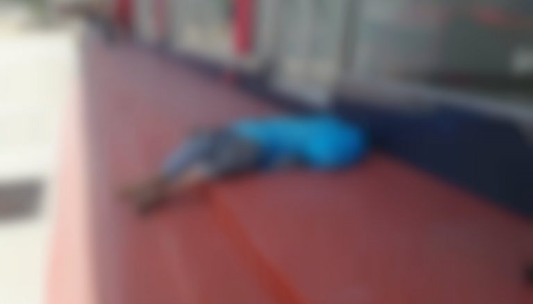 Casi «linchan» a conductor de bus que atropelló a supuesto indigente en San Pedro Sula