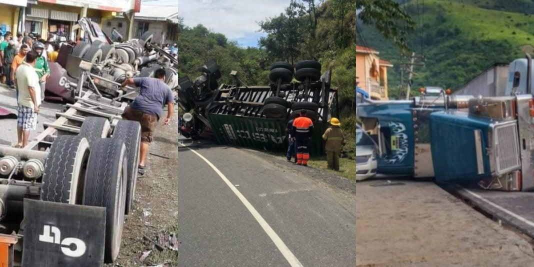 Accidentes de rastras en Honduras