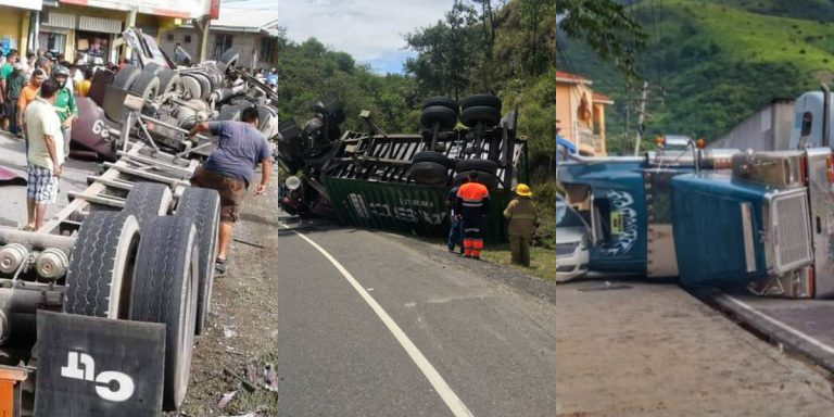 Rastras se vuelven protagonistas en accidentes viales; hoy se registró uno más