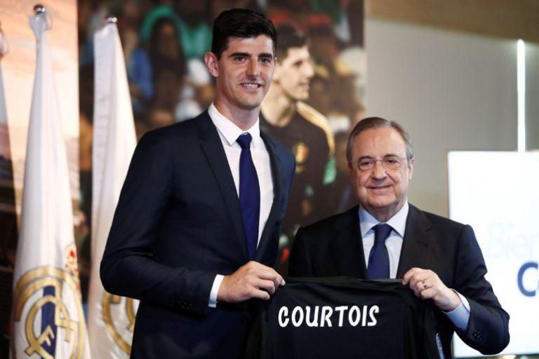 ¡El fichaje favorito de Florentino, Thibaut Courtois fue presentado en el Bernabéu!