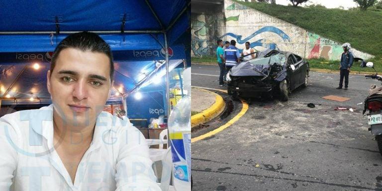 Identifican a una de las víctimas del accidente en Circunvalación