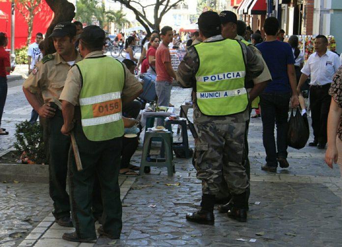 policías municipales heridos en SPS