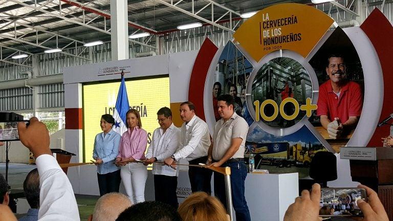 Cervecería Hondureña amplía planta de producción; $26 millones invertidos