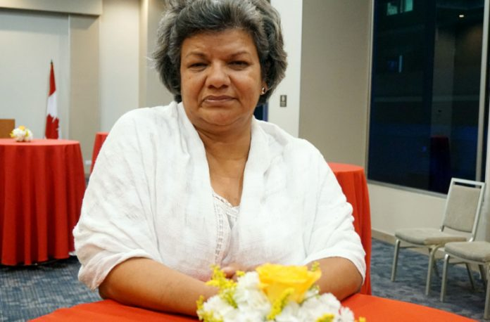 Periodista Sandra Sánchez de Radio Progreso