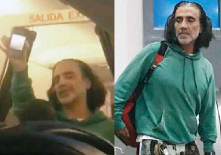 ¡Borracho! Alejandro Fernández provoca mucho miedo a los pasajeros de un avión