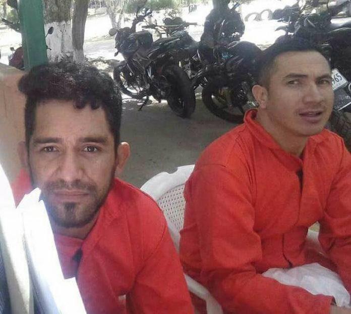 presos políticos en La Tolva