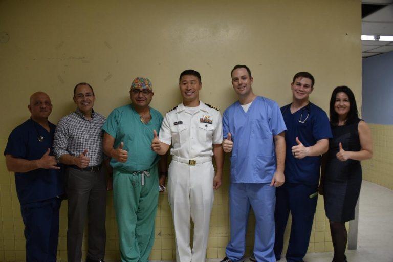 Médicos militares estadounidenses realizaron brigada de cirugías ortopédicas en el HEU