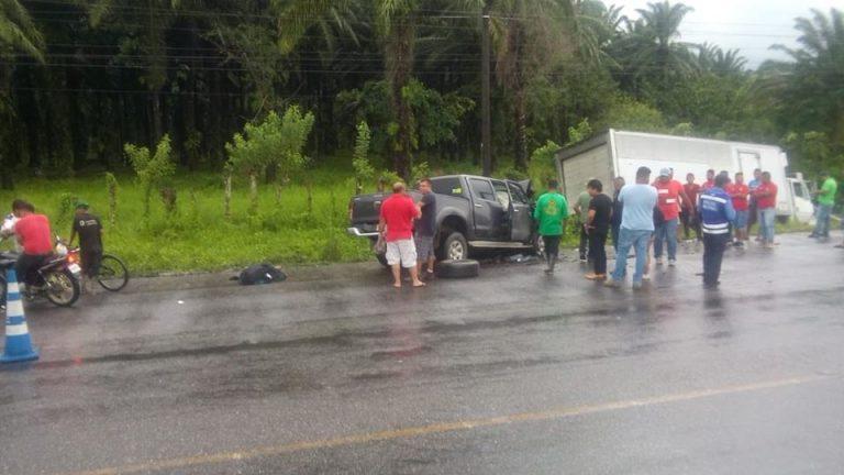 Mueren dos personas en la carretera hacia Tela tras un accidente vial