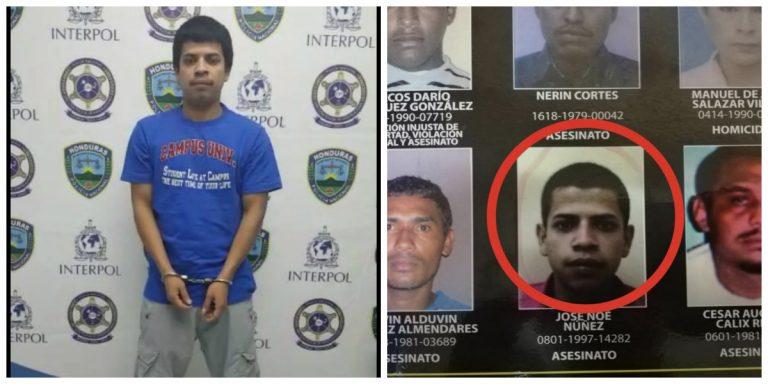Llega al Villeda Morales y lo esposan por ser uno de los más buscados en Honduras