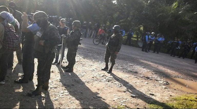 Tocoa, Colón: agresión contra comunicadores sociales en violento desalojo