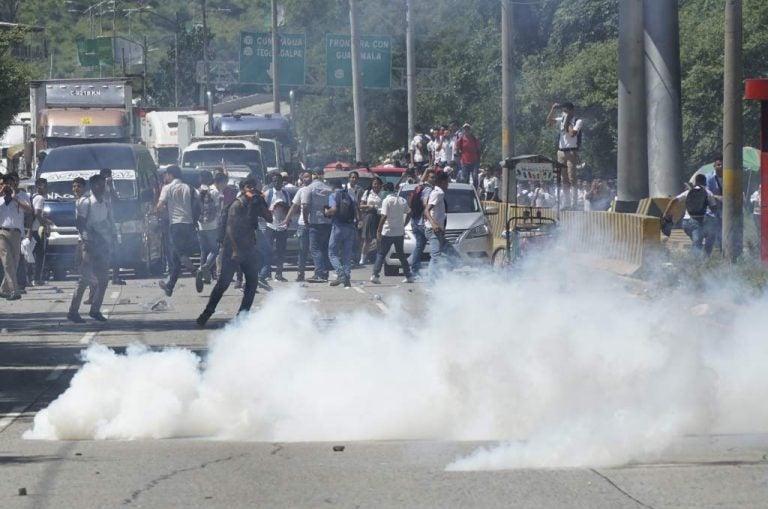 Dirigente del JTR asegura que no hay políticos ni del MEU en sus protestas