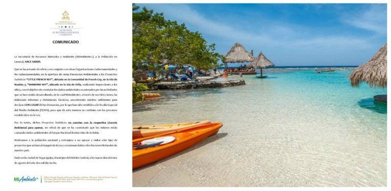 Acusan a dos proyectos turísticos de causar daños ambientales en las islas