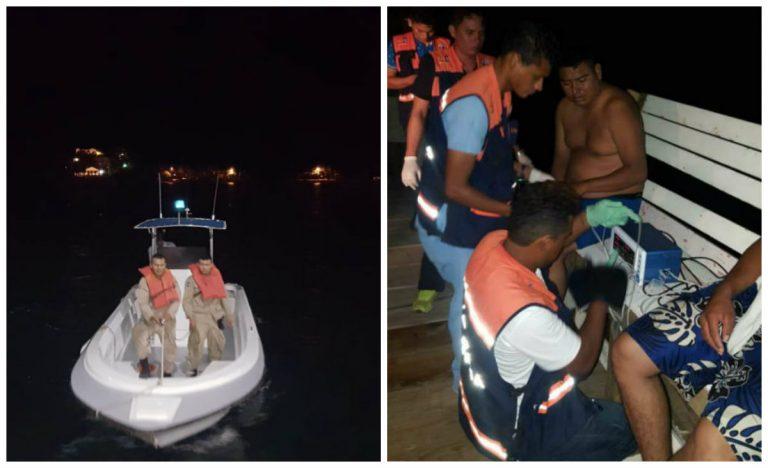 Naufragio en Roatán: ciudadanos nadaron dos horas para salvarse