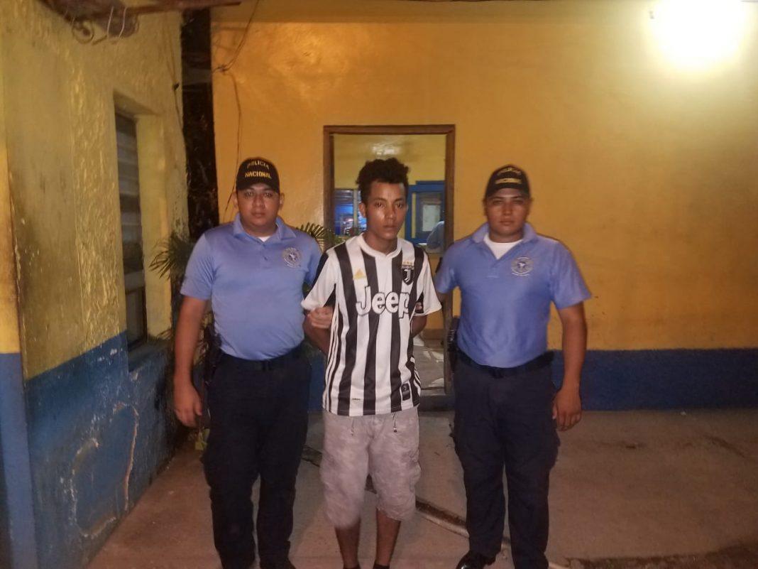 pandillero en El Progreso