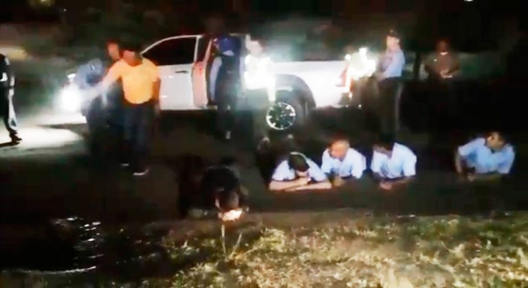 SPS: 17 detenidos, 18 armas y tres carros decomisados en concierto de Calibre 50