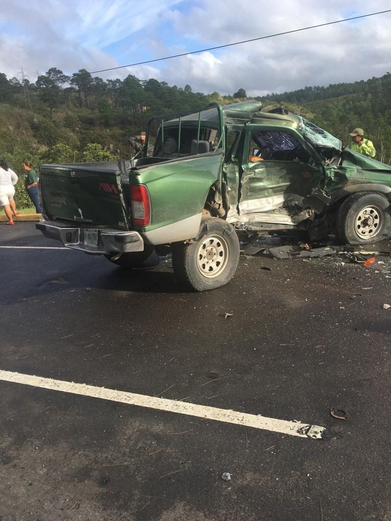 Muere teniente por accidente automovilístico en carretera CA-5