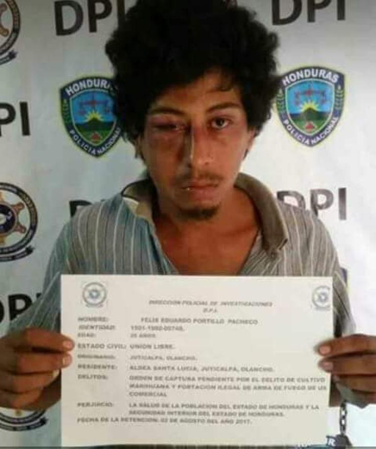 Olancho: Capturan a hijo que mató a su madre a punta de golpes