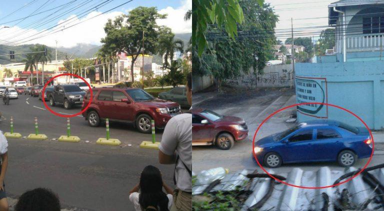 SPS: estudiantes denuncian persecución de hombres en vehículos con placas no registradas en el IP
