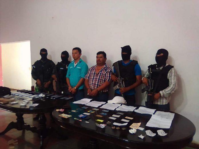 capturados por falsificación de dinero en Danlí