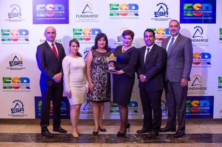 DIUNSA recibe su 8vo. sello de Empresa Socialmente Responsable