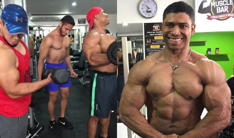 Fisicoculturismo, el deporte que sobrevive a «pura garra» en Honduras