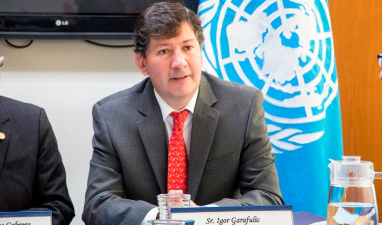 Garafulic asegura que partidos pequeños se unirán al diálogo nacional