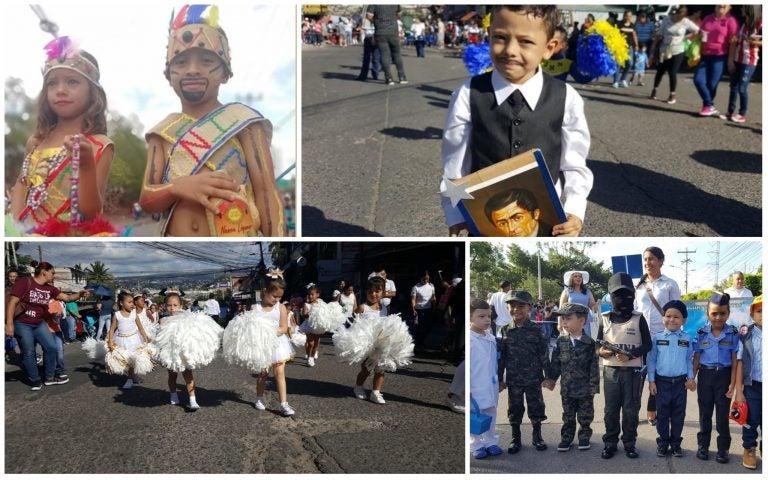 TODO EN IMÁGENES: destreza, civismo, talento y gracia en el desfile de pre-básica