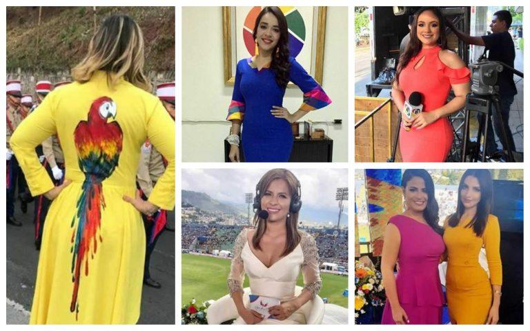 Honduras: bellas presentadoras lucieron sus galas en desfiles patrios