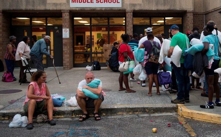 EUA: más de 100 albergues disponibles para hondureños por huracán Florence