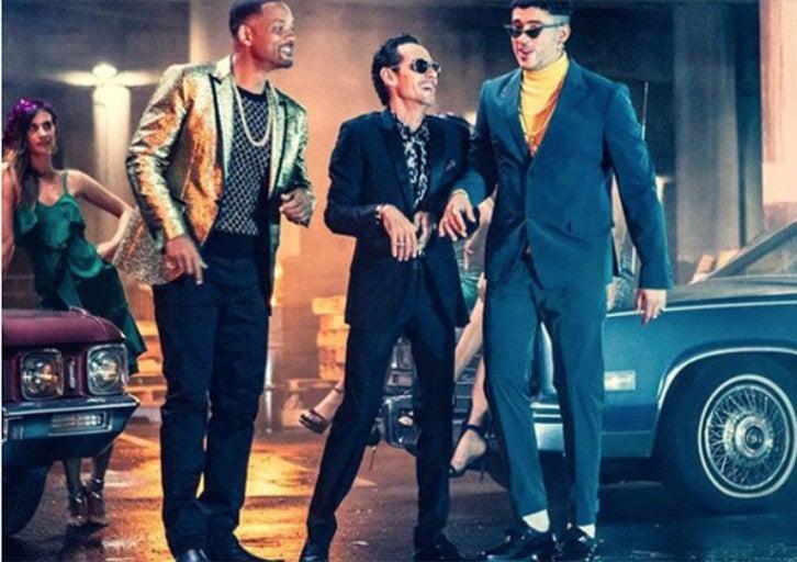 """Will Smith, Marc Anthony y Bad Bunny crean nuevo éxito musical """"Esta Rico"""""""