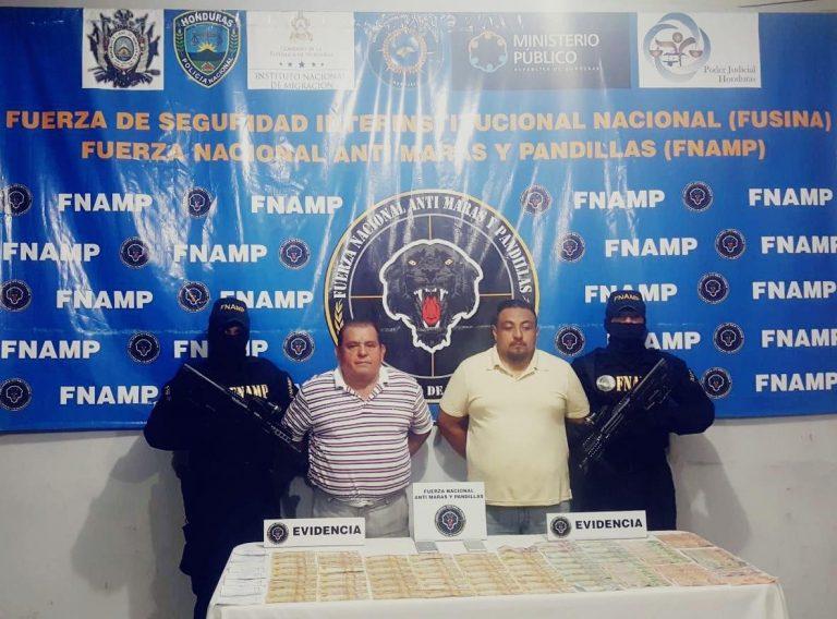 La Lima: capturan a dos supuestos miembros de la mara Salvatrucha