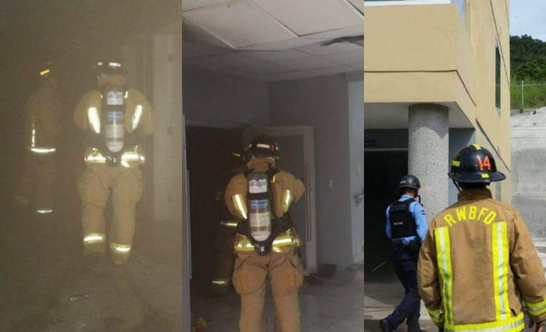 Lanzagranadas provoca incendio en almacén de bombas lacrimógenas en SB