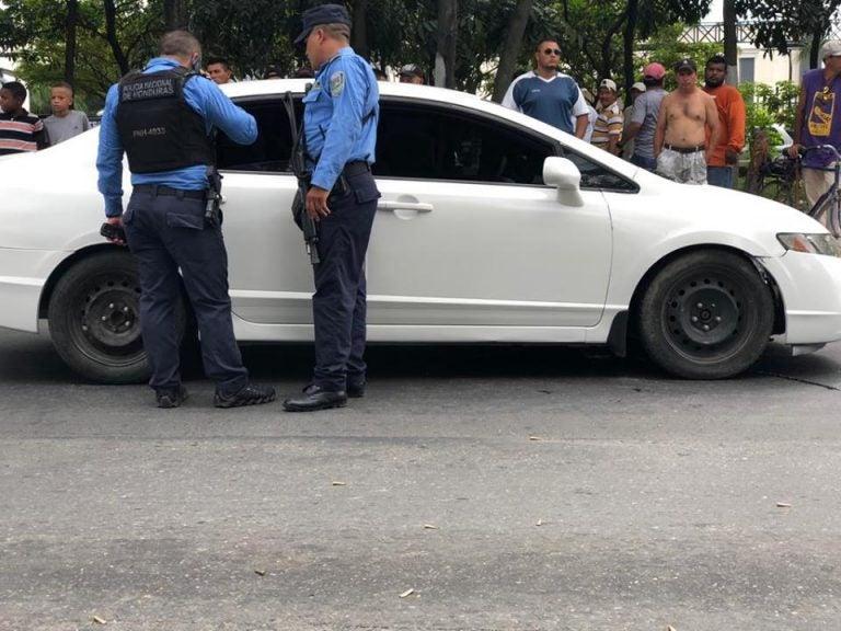 Un herido deja balacera en barrio Cabañas, San Pedro Sula