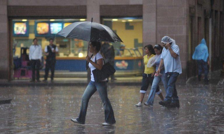 CLIMA DE HOY: lluvias en la mayor parte del territorio nacional, según CENAOS