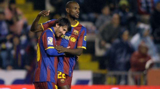 Eric Abidal: »Messi no habla mucho, pero lo enseña todo. Es un gran capitán