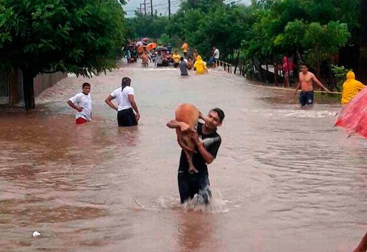 Casi siete mil personas resultaron afectadas con temporal lluvioso, según COPECO